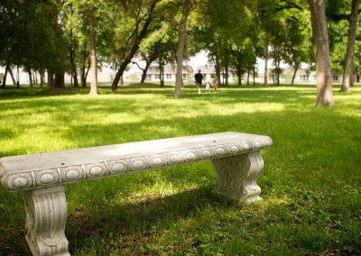cement-bench