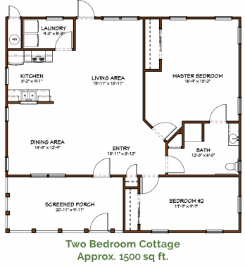 Cottage Floor Plans Senior Living Community In San Antonio The